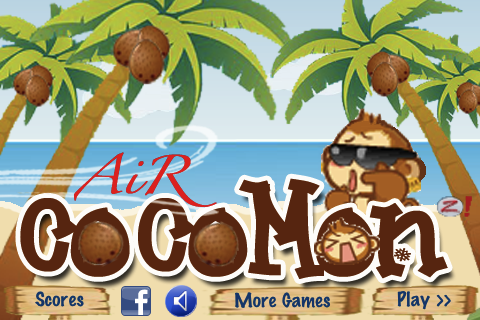 Screenshot Air CocoMon: Free Flight of the Monkey 's Coconut